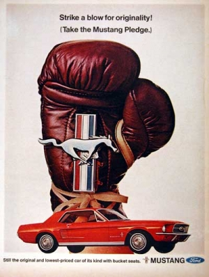 1967 Ford Mustang Ad