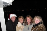 Christmas caroling Ventura Harbor 12/07-Ben and Colleen Suddock, Janice Green and Joan Aston