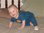 Joan Hofmann Andrews 8 month old grandson Hudson....WOW...how fast they grow!!!  Life doesn't get much sweeter then thi