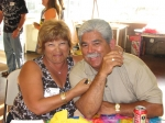 Raylene Salas and hubby Esau - thanks for great Salsa